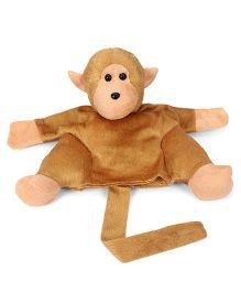 IR Hand Puppet Monkey Brown - 28 cm