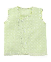 Chocopie Sleeveless Jhabla - Green