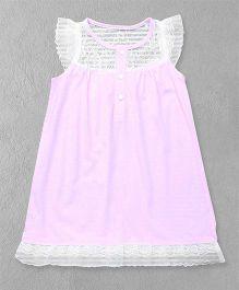 El Hogares Elegant Dress - Pink