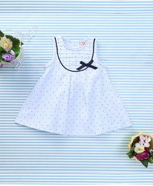 Sunny Baby Beautiful Dress With Bow - Blue