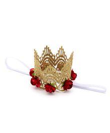 Little Miss Cuttie Birthday Headband - Red