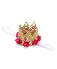 Little Miss Cuttie Birthday Headband - Hot Pink