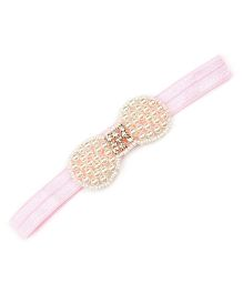 Little Miss Cuttie Glitter Headband - Pink