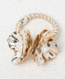 Treasure Trove Double Shell Rubber Band - Golden