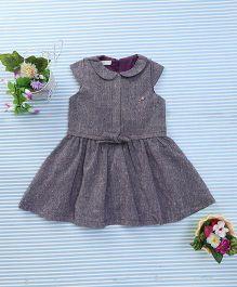 Amigo 7 Seven Collar Dress - Purple