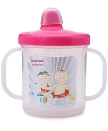 Morisons Baby Dreams Sippy Feeding Cup Pink 180 ml (Prints May Vary)