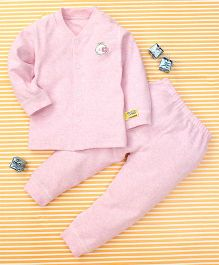 Gigilily Smart Tee & Pant Set - Pink
