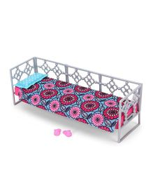 Barbie Daybed Set - Blue And Pink