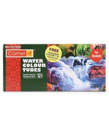 Camel Water Colour Tubes SWC - Pack Of 12