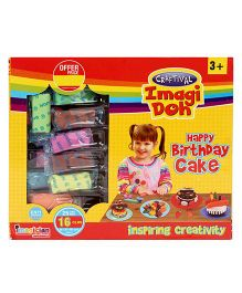 Imagician Playthings Craftival Imagi Doh My Birthday Cake - Multicolor