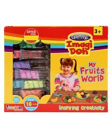 Imagician Playthings Craftival Imagi Doh My Fruits World - Multicolor