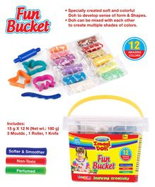 Imagician Playthings Craftival Imagi Doh Fun Bucket (Color May Vary)