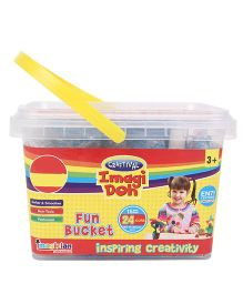 Imagician Playthings Craftival Imagi Doh CID-028 Fun Bucket - Multicolor