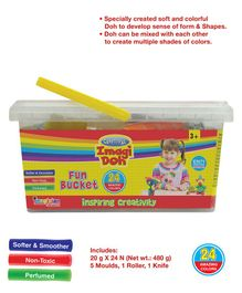 Imagician Playthings Craftival Imagi Doh Fun Bucket - Multicolor