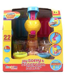 Imagician Playthings Craftival Imagi Doh My Softy & Icecream Maker - Multicolor
