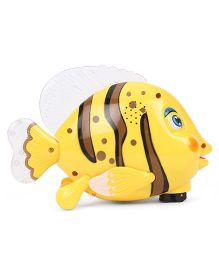 Imagician Playthings Kids Villa Swing N Glow Fish - Yellow