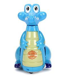 Imagician Playthings Kids Villa Bump N Go Buddy Crocodile - Blue