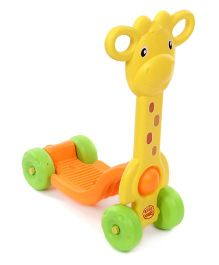 Imagician Playthings Kids Villa My First Safari Rider Giraffe -  Yellow Orange