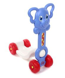 Imagician Playthings Kids Villa My First Safari Rider Elephant -  Blue White