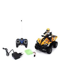 Imagician Playthings Remote Control Kratos Stunt ATV Desert Bike - Yellow