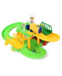 Imagician Playthings Kratos Build & Grow Rail - Green Yellow