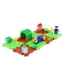 Imagician Playthings Kratos Build & Grow Rail Green Brown - 20 Pieces