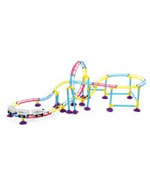 Imagician Playthings Roller Coaster Adventure Track Set - Multicolor
