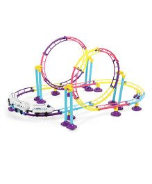 Imagician Playthings Kratos Roller Coaster Adventure Track  Set - Multicolor