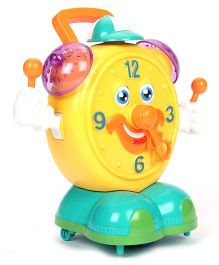 Imagician Playthings  Kids Villa Bump N Dance Clock - Yellow Green