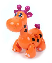 Imagician Playthings Kids Villa Jungle Friend Giraffe - Orange