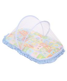 Mee Mee Mattress With Mosquito Net - Blue