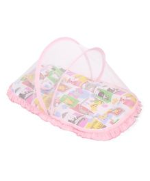 Mee Mee Mattress With Mosquito Net - Pink