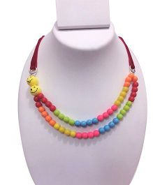 SYN Kidz Designer Double Layered Neckpiece - Multicolor