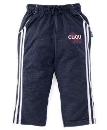 Cucu Fun Full Length Track Pants - Navy