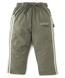 Cucu Fun Full Length Track Pants - Fawn