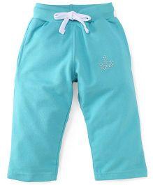 Cucu Fun Full Length Track Pants - Aqua Green