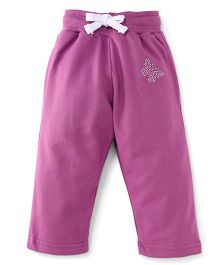 Cucu Fun Full Length Track Pants - Purple