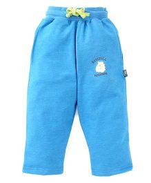 Cucu Fun Full Length Track Pants - Blue