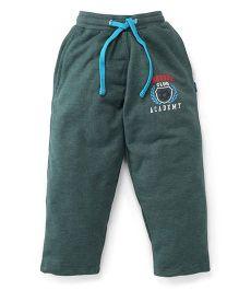 Cucu Fun Full Length Track Pants - Green