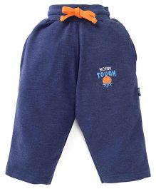 Cucu Fun Full Length Track Pants - Navy Blue