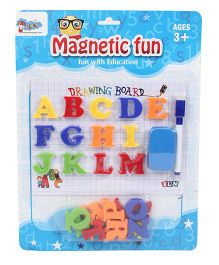 Sunny Magnetic Fun Alphabets Multicolor - 26 Pieces