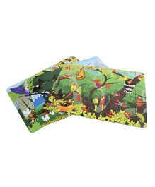 Sunny Jigsaw Big Birds 3 In 1 Puzzle - 120 Pieces