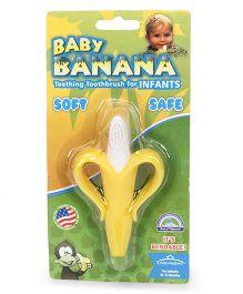 Baby Banana Tooth Brush - White & Yellow