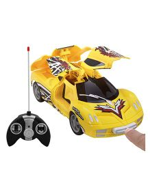 Toycry Radio Control Door Opening Car - Yellow