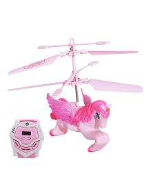 Toycry Hand Sensing Flying Horse - Pink