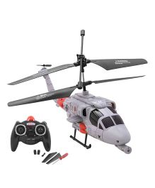 Toycry Flying Military Fighter Helicoptor - (Colors May Vary)