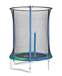Plum Junior Trampoline And Enclosure - Multi Color