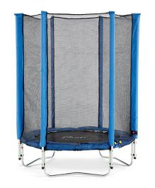 Plum Junior Trampoline And Enclosure - Blue