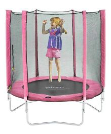 Plum 6 Feet Trampoline And Enclosure - Pink