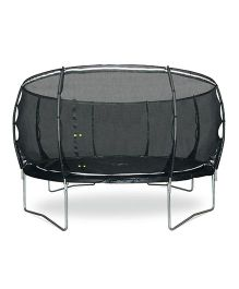 Plum Magnitude 12 Feet Trampoline And Enclosure - Black
